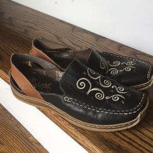 Rieker Slip On Loafers